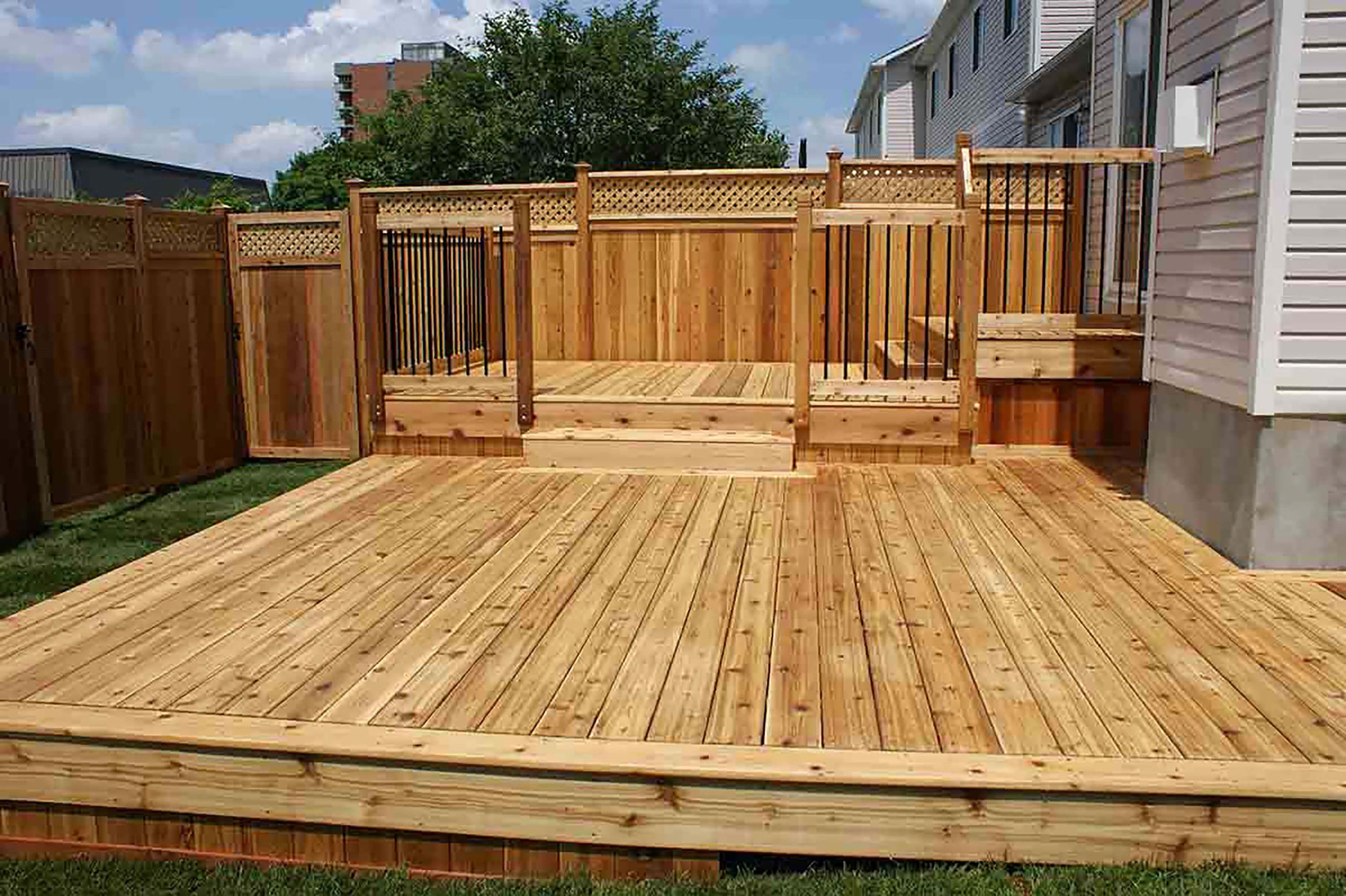 Landscape Design Tips Redwood Decking Wood Deck Designs Deck Design
