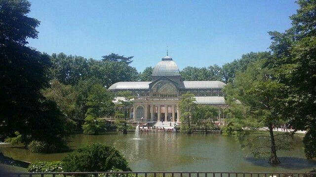Palacio de Cristal de El Retiro, Madrid. De Lna