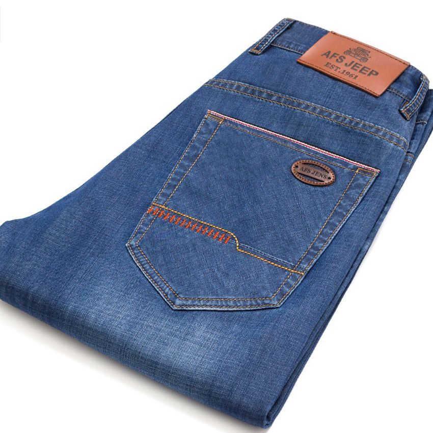 Aliexpress Com Comprar Afs Jeep Marca Cuatro Estaciones Pantalones Vaqueros De Los Hombres Pantalones Mens Jeans Pockets Mens Fashion Denim Denim Jeans Ideas