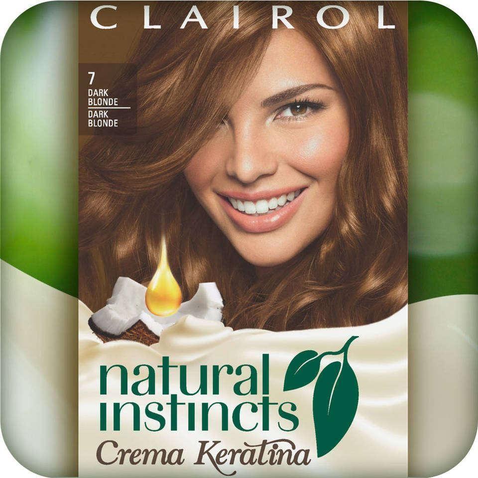 Amazon Clairol Natural Instincts Crema Keratina Hair Color Kit