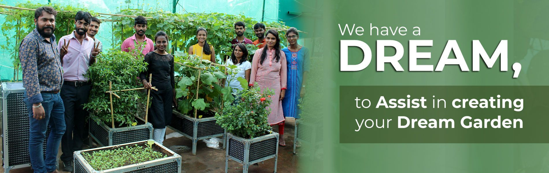 Mydreamgarden is an online gardening store for balcony ...