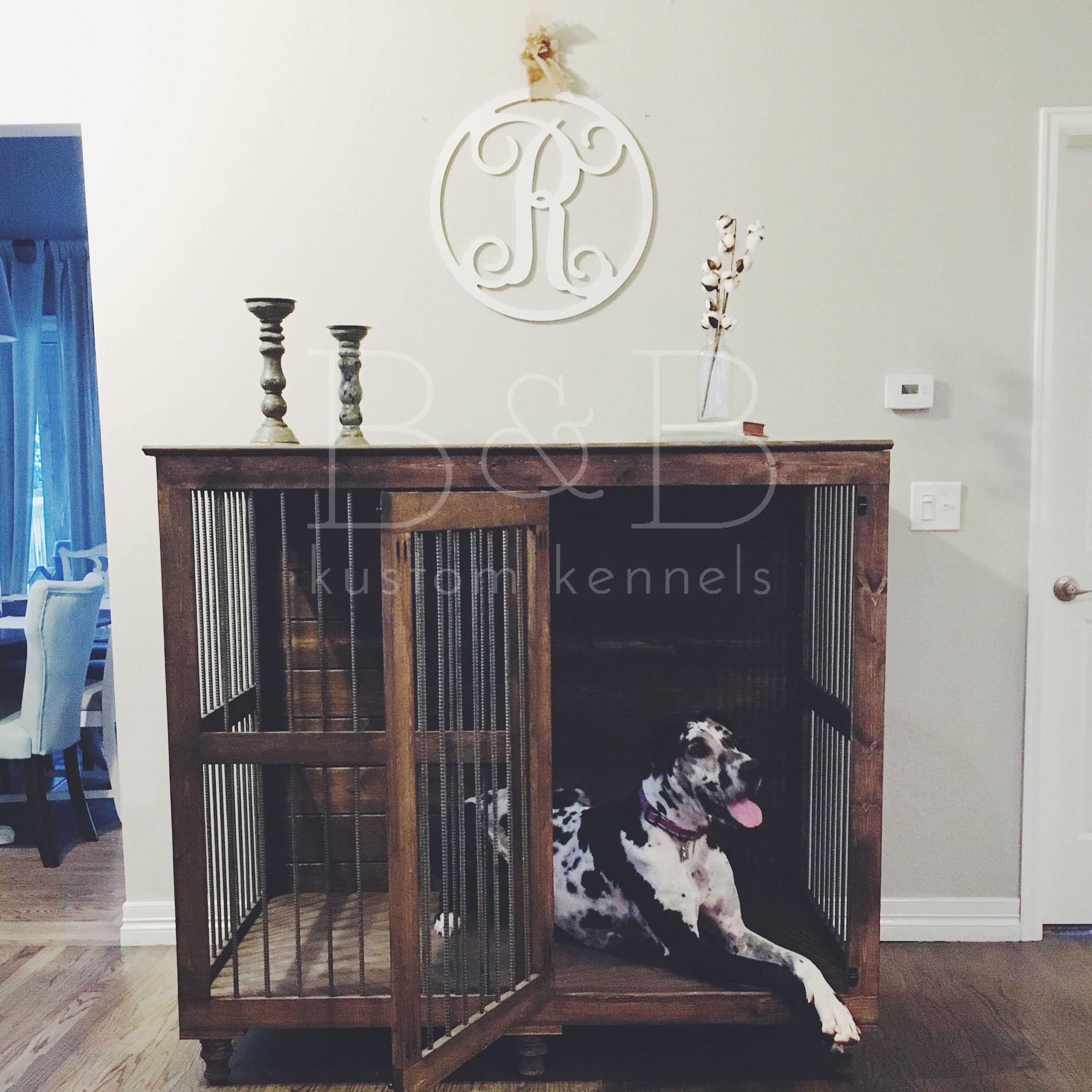 Great dane doggie den dane dog indoor and dog for Design indoor dog crate