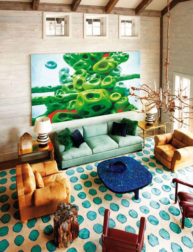 1840 Interior Design: Frank De Biasi Interior,rug Designed By Doug & Gene Meyer