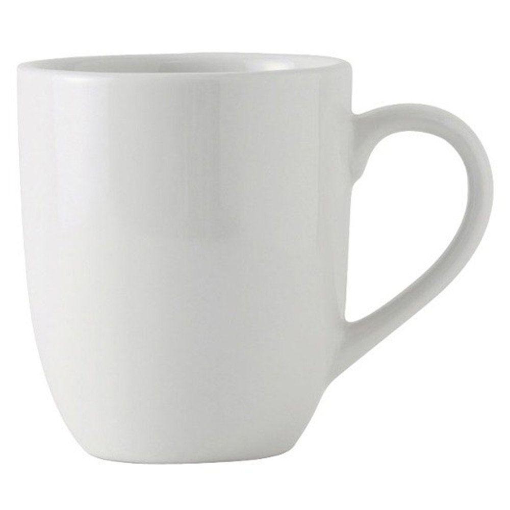 tuxton bpm 160a duratux 16 oz bright white milano china mug 24 case bright china and porcelain. Black Bedroom Furniture Sets. Home Design Ideas