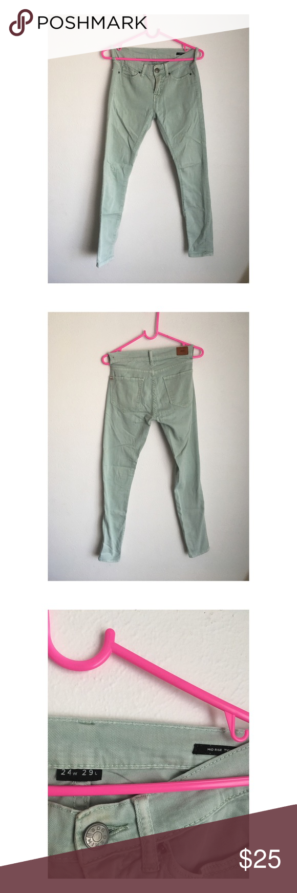 Green Mint skinny jeans urban outfitters pictures pictures