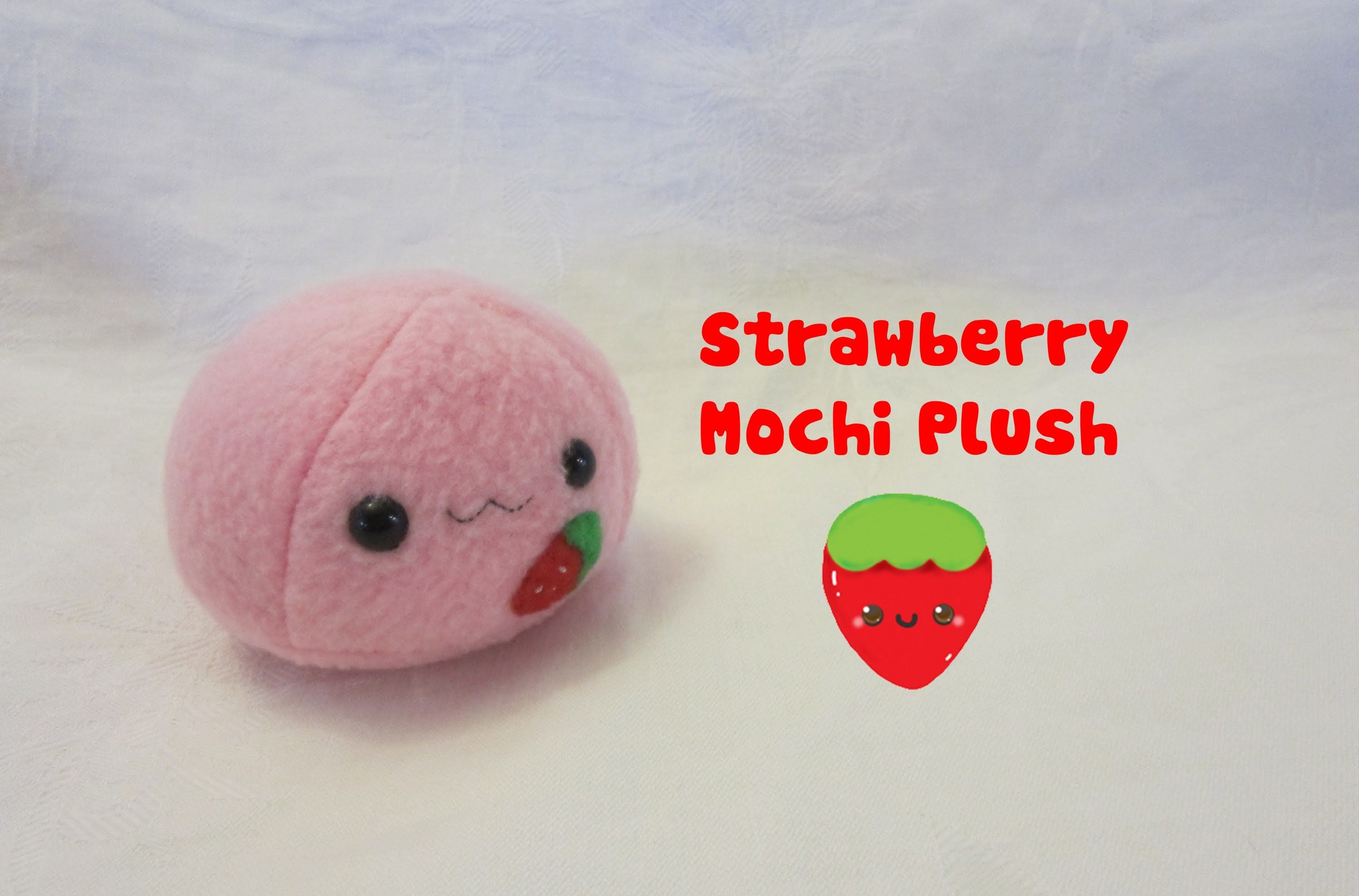 Mochi Plush Tutorial - I am planning to use this to make some cute ...