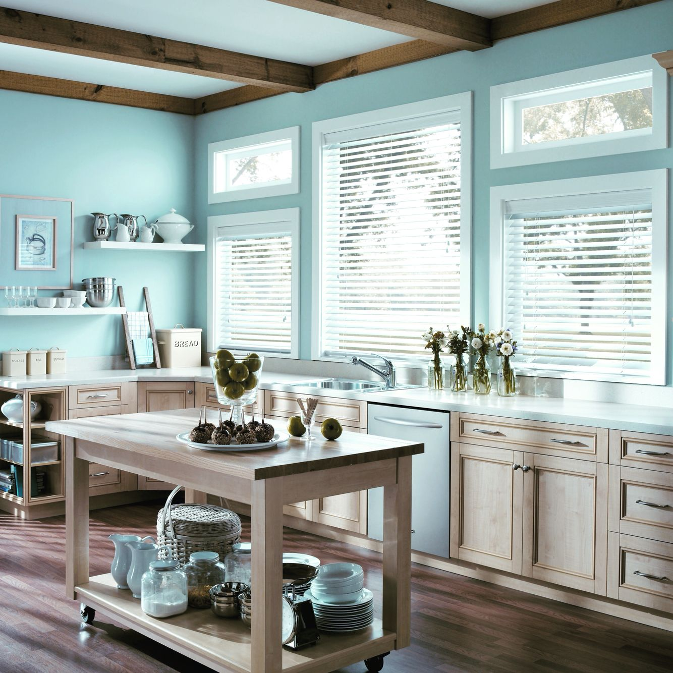 Pin if you\'d love to have a kitchen designed like this! City Blinds ...