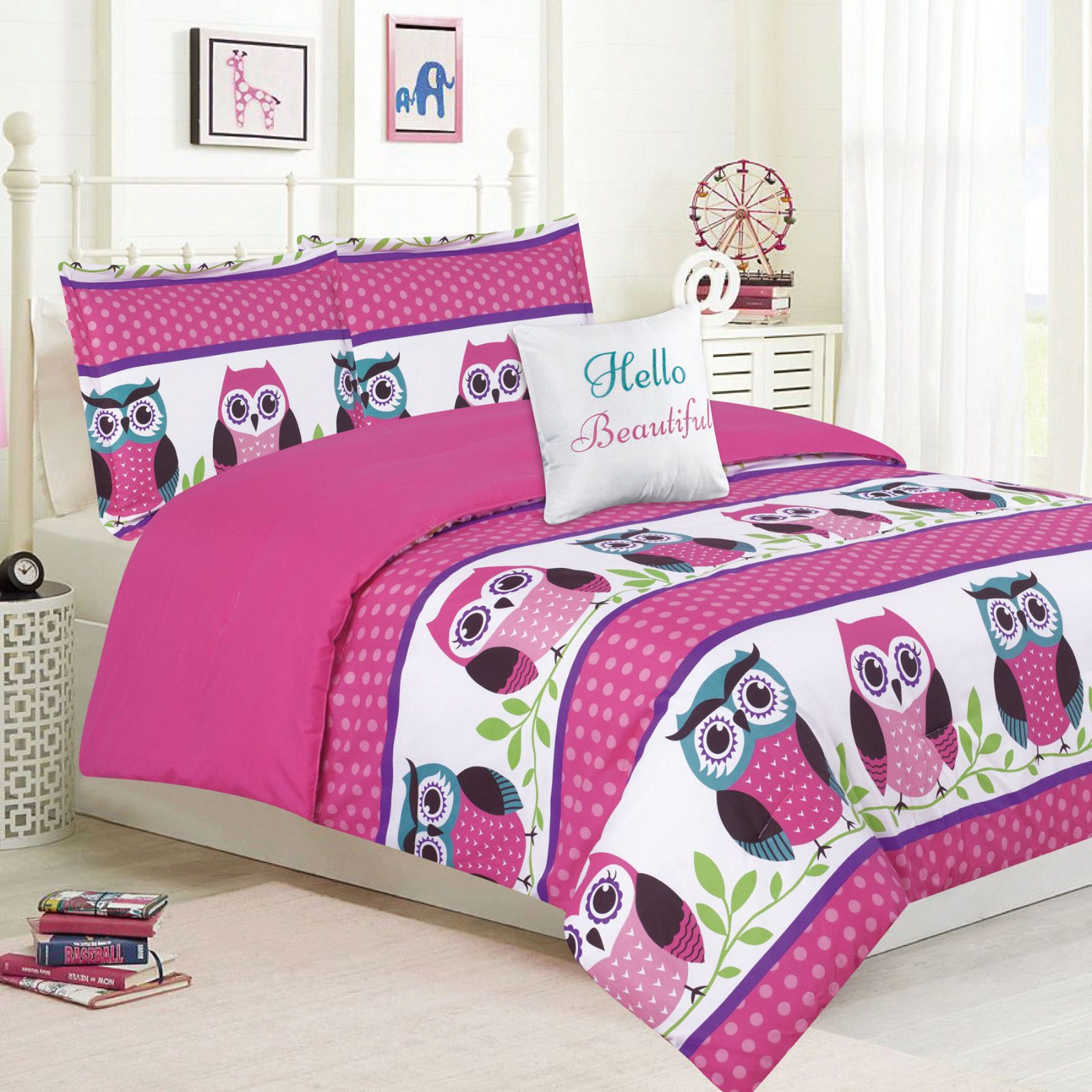 Comforters And Sets 66728 Girls Bedding Twin Or Queen Comforter Bed