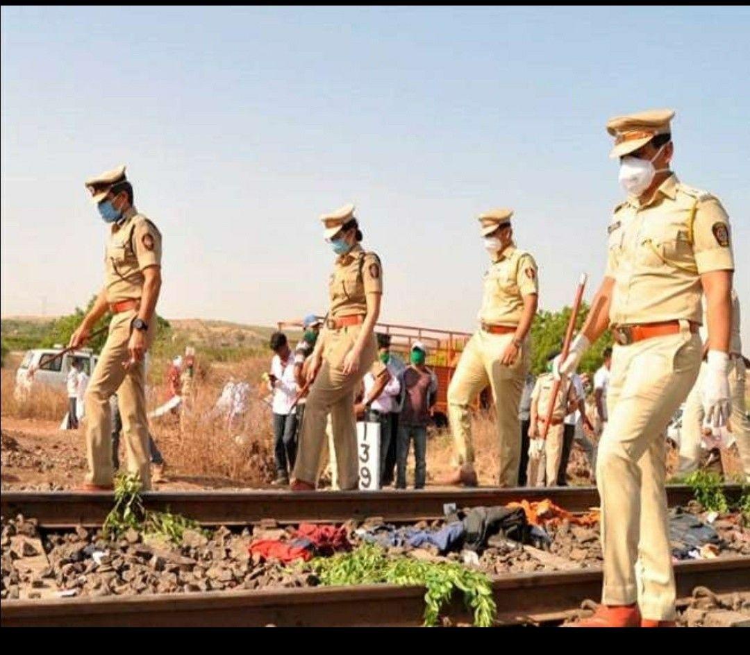 Pin on Aurangabad train accident