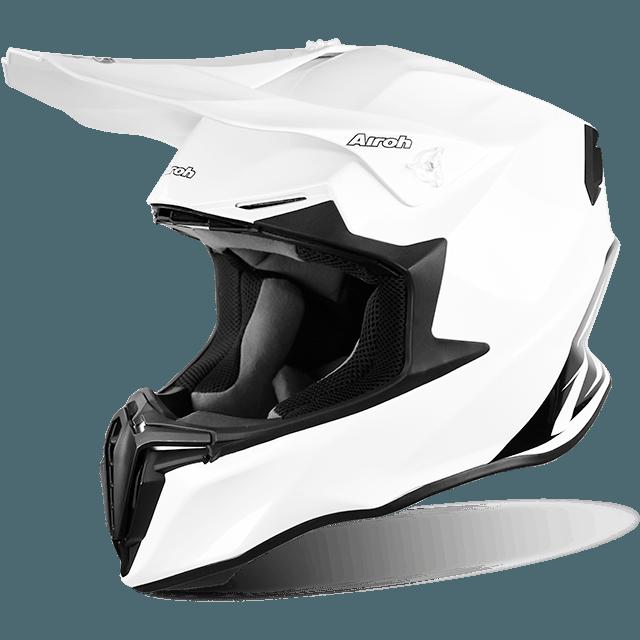 Casque Cross Airoh Twist Blanc Helmet Helmet Motocross Helmets
