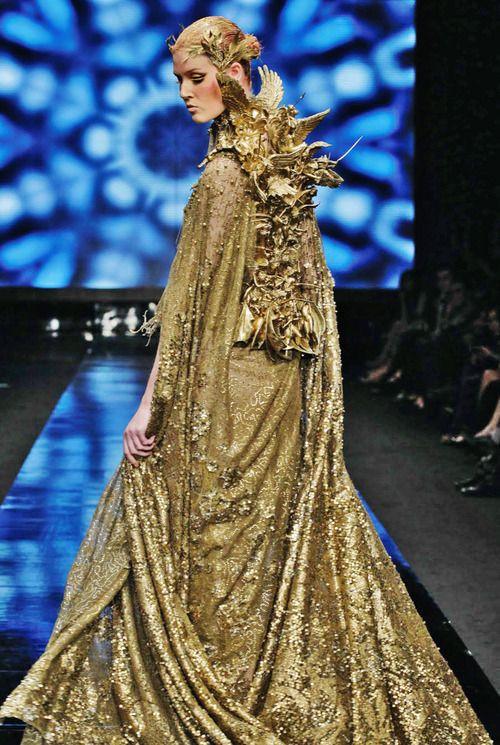 "Tex Saverio, Jakarta Fashion Week 2012 ""Midas Collection ..."