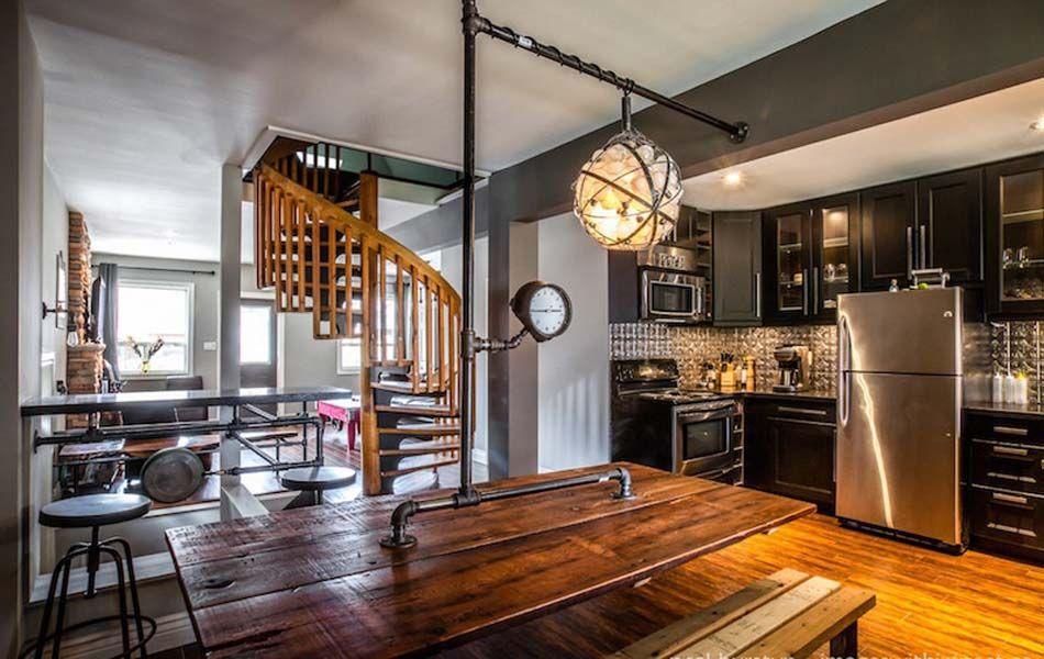 Un int rieur de maison la tendance r tro dans l esprit for Interieur original maison