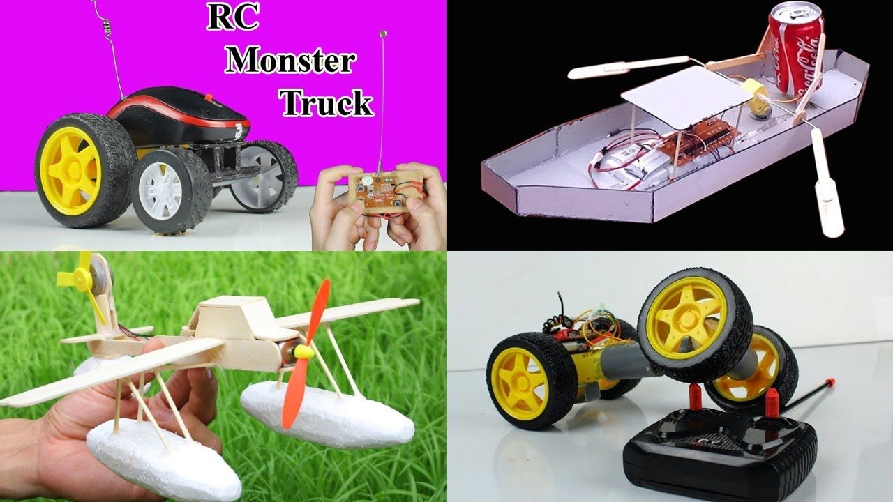 4 Amazing Rc Toys You Can Do At Home Compilation Diy Remote