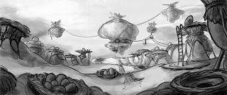 Lee Petty's Sketch Hole: Broken Age Concepts