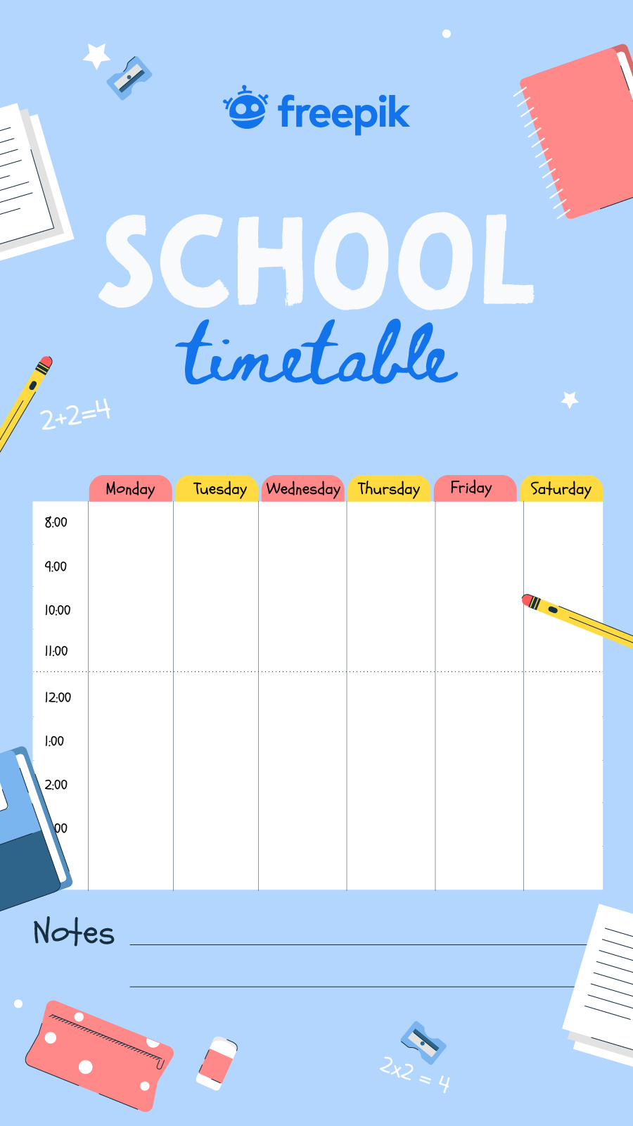 Enjoy These School Timetable Images For Free School Timetable Back To School Images School Supplies List [ 1600 x 900 Pixel ]
