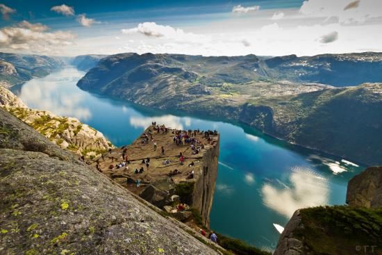12 todella lumoavaa paikkaa: Norjan vuono.