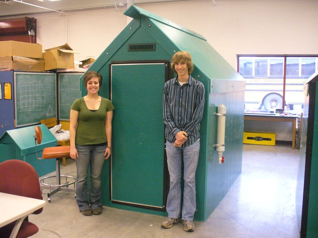 High School Students Invent An Emergency Shelter They
