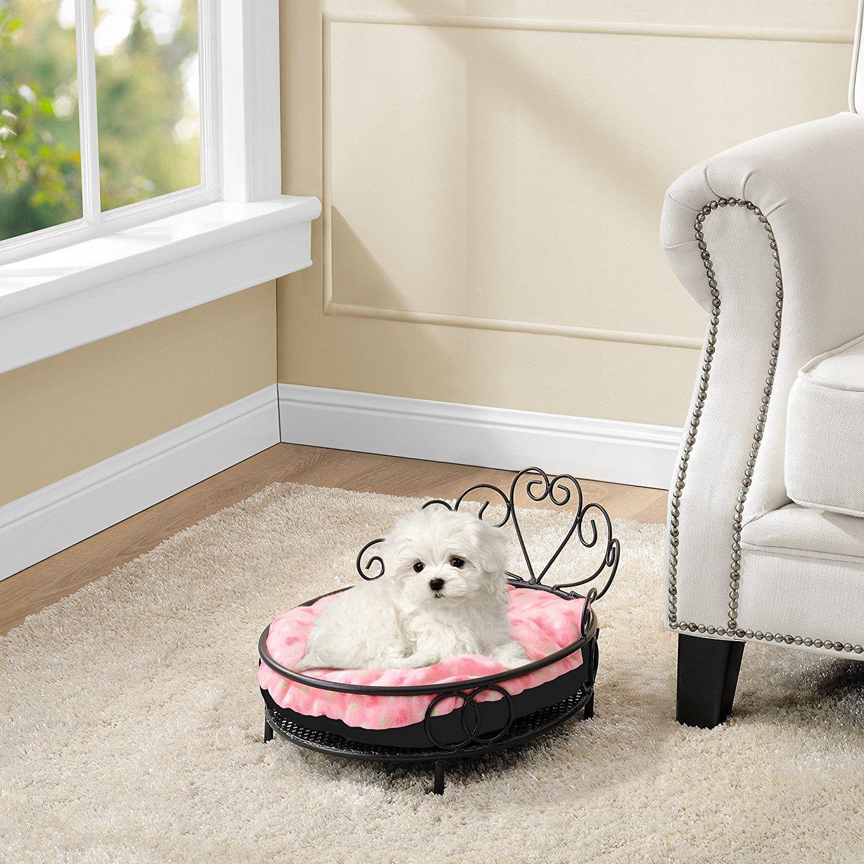 Hundebett Im Romantischen Stil Gestell Pulverbeschichtet Pug Pugdog Mops Puglove Dogbed Hunde Bett Hundebett Hundekorb