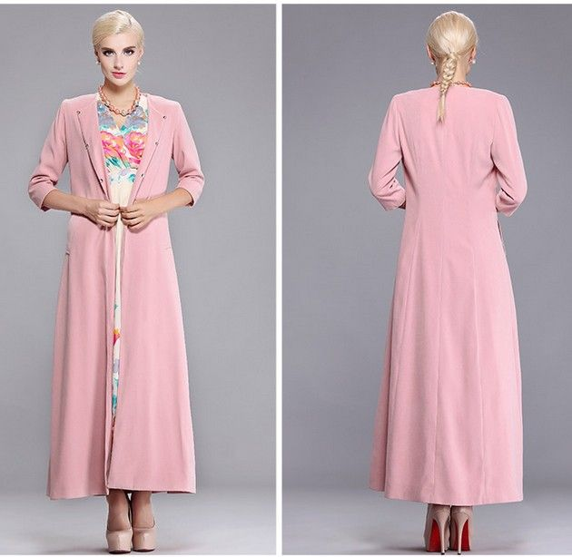 long jacket dresses - Google Search | Dresses | Pinterest | Long ...