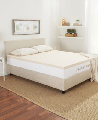 Copperfresh 3 Extra Support Gel Memory Foam Mattress Topper