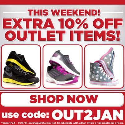 Get An Extra 10 Off Outlet Items This Weekend Use Promo Code