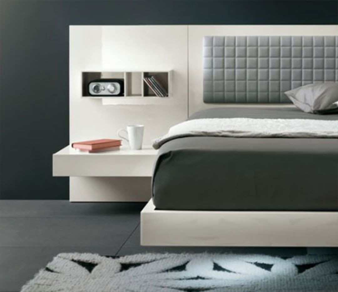30 Amazing Modern Headboard Designs For Awesome Bedroom Idea Bed Design Modern Modern Bed Futuristic Bed