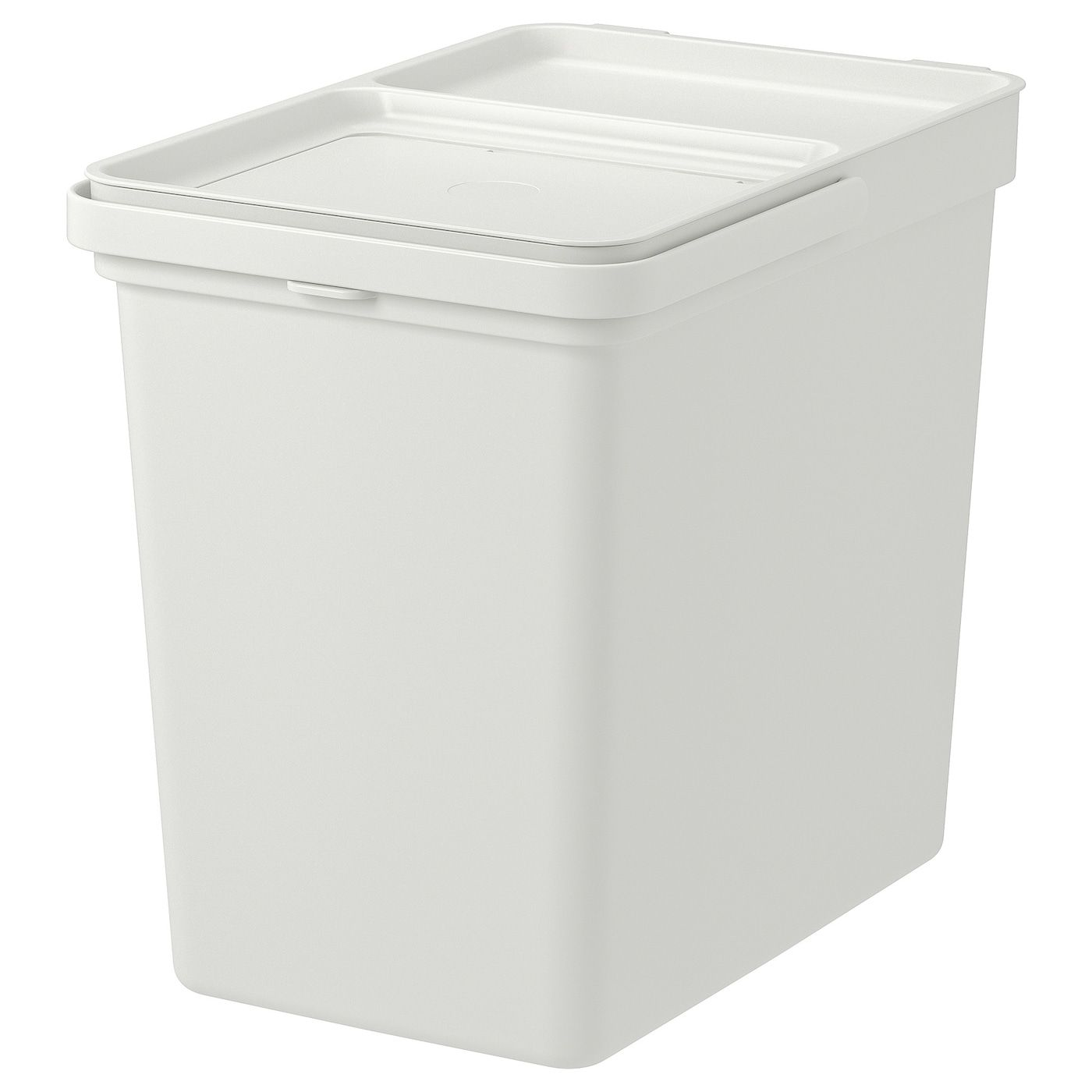 Hallbar Behalter Mit Deckel Hellgrau Mehr Erfahren Ikea Osterreich In 2020 Recycling Bins Ikea Pantry Storage Containers