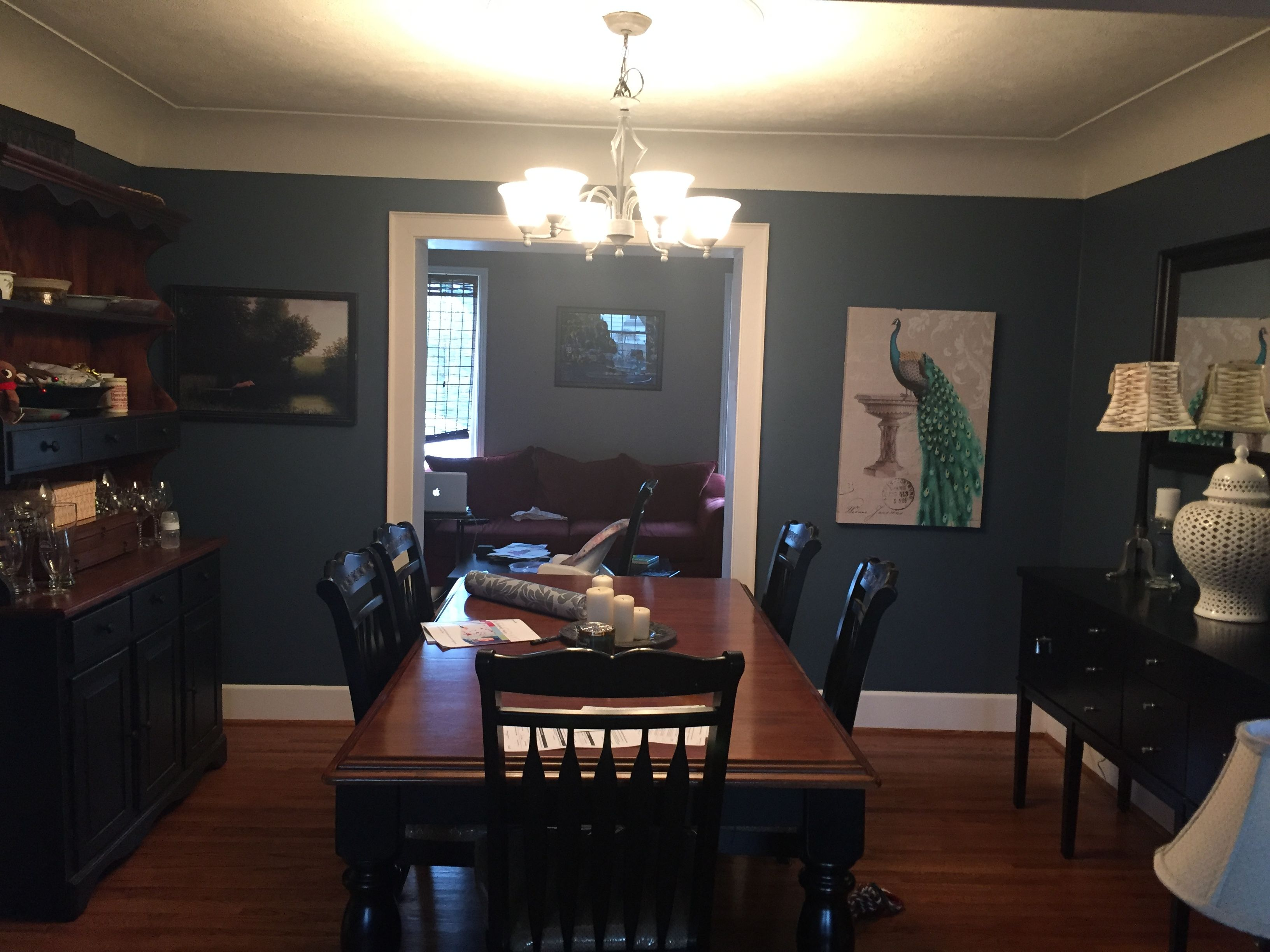 Behr Nypd Blue Dining Room