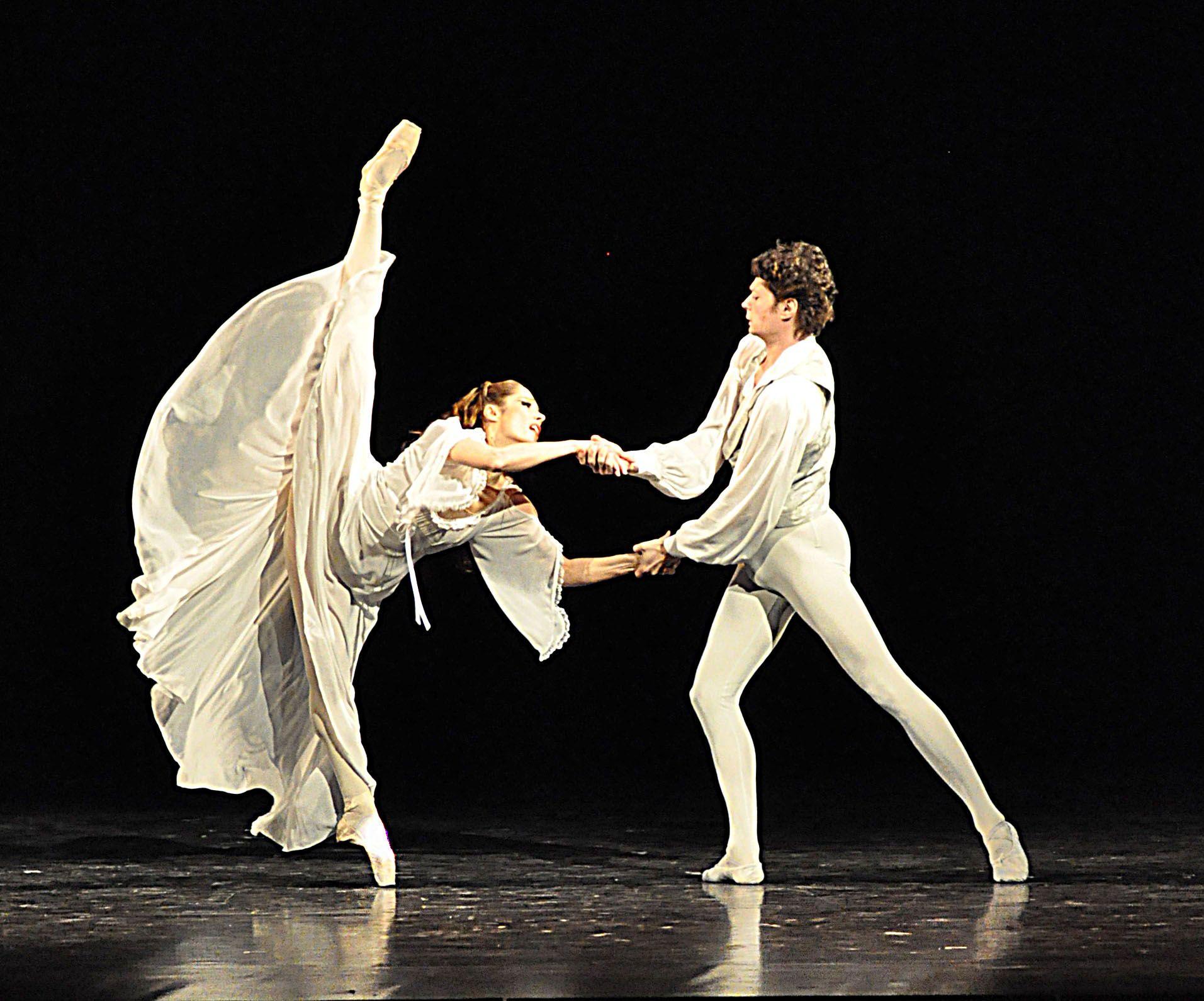 Balletto bambini ~ Amelie ship pirouette balletto scarpe da punta e