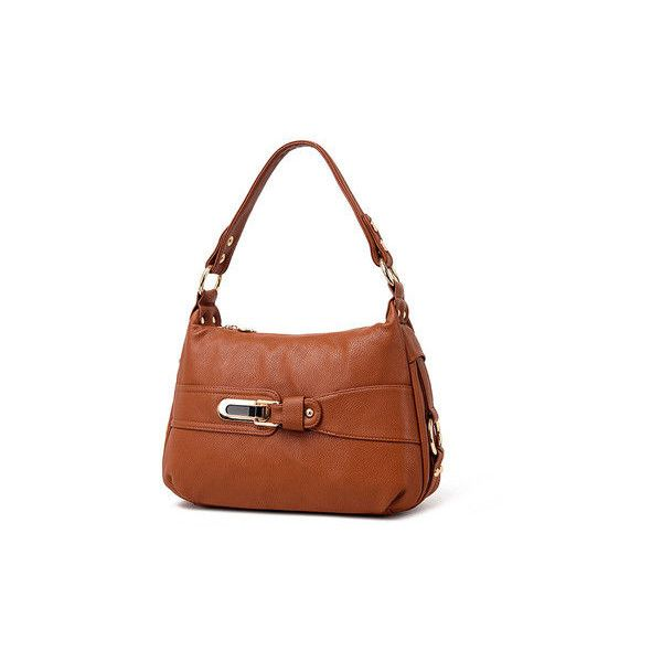 Women Elegant PU Leather Handbag Casual Outdoor Shopping Crossbody Bag (1.532.514.070 COP) ❤ liked on Polyvore featuring bags, handbags, shoulder bags, cross-body handbag, crossbody shoulder bags, white crossbody handbags, handbags shoulder bags and purse crossbody