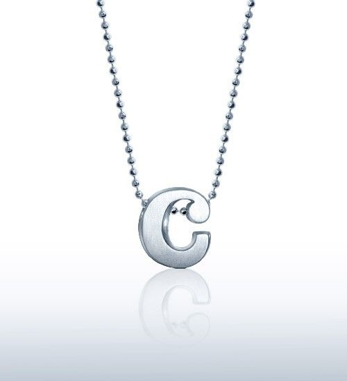 The 3rd letter of the English alphabet makes a personalized - statement letter