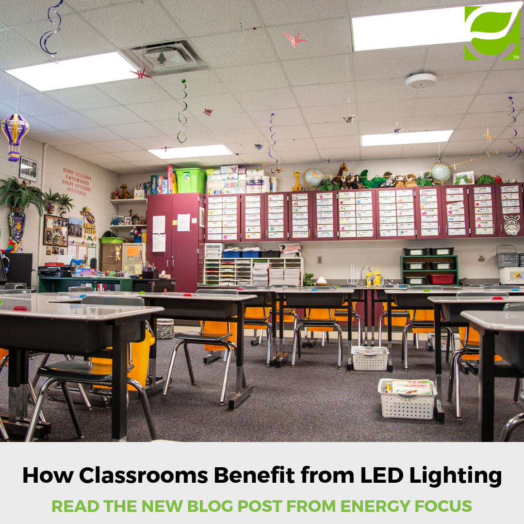 How Does Switching To Flickerfree Ledlighting Benefit Educational Classrooms Read Energy Focus Blog To Read How Flickerfreeleds Ca Led Lights Led Flicker