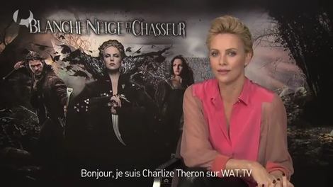 Charlize Theron and Chloé Spring 2012 RTW Colorblock Blouse Photograph