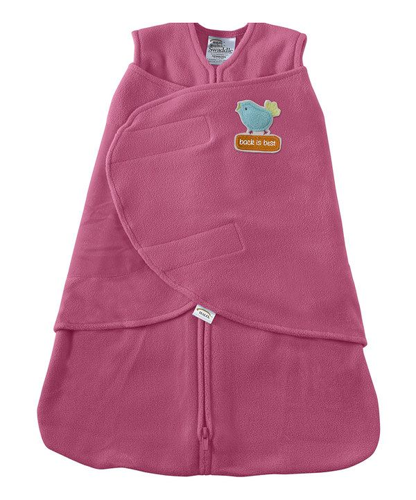 Take a look at this Bright Pink Bird HALO SleepSack Swaddle on zulily today!