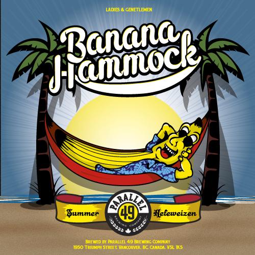 banana hammock summer hefeweizen parallel 49 brewing  bccraftbeer banana hammock summer hefeweizen parallel 49 brewing  bccraftbeer      rh   pinterest co uk