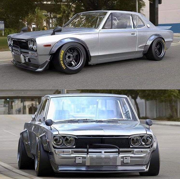 Oldschool JDM Nissan Skyline GT-R Stanced