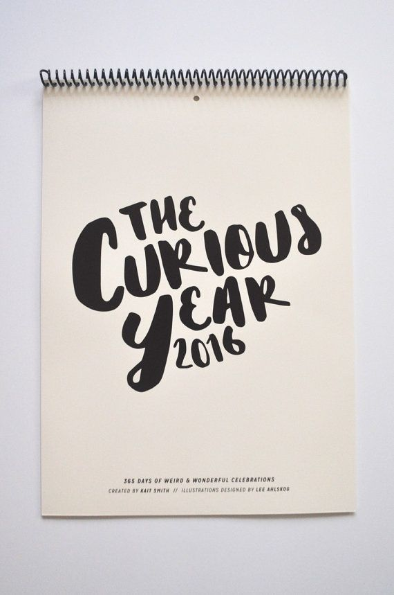 The Curious Year by TheCuriousYear on Etsy
