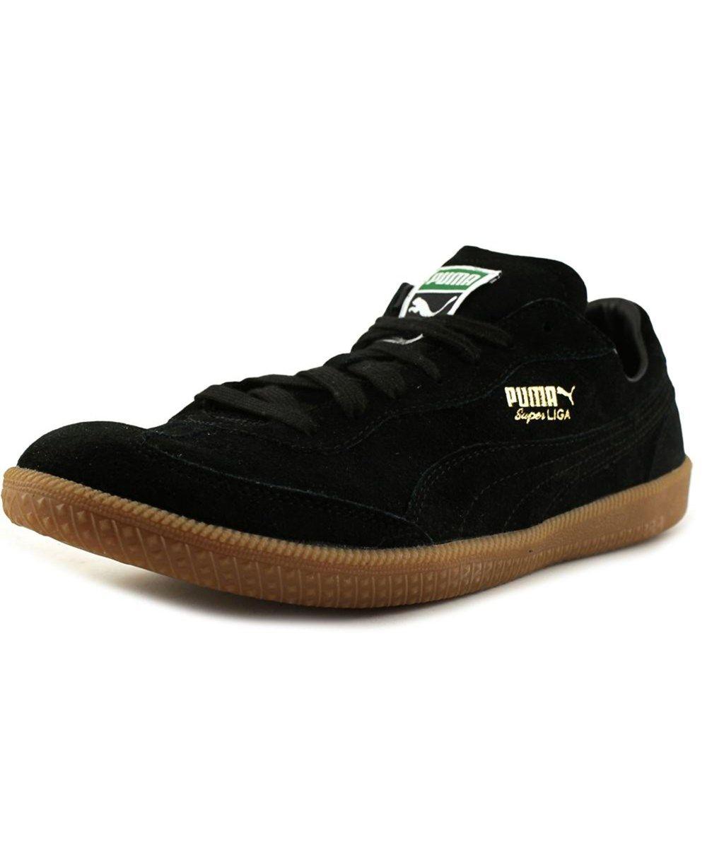 3b06385514f2 PUMA Puma Super Liga Modern Heritage Round Toe Suede Sneakers.  puma  shoes