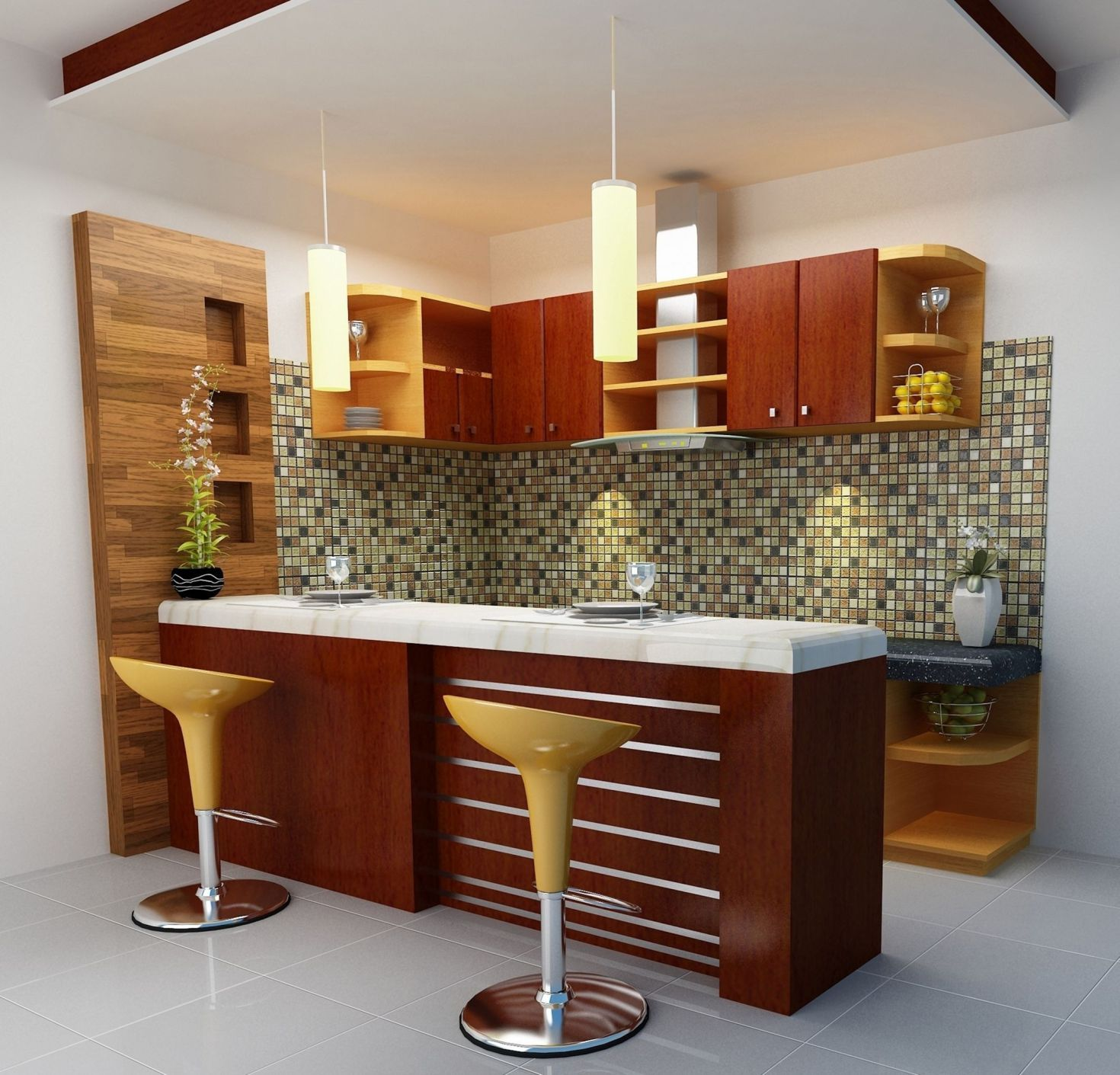 Interior Design Ideas Home Bar: Amazing Mini Kitchen Bar Design For Home Design Plan Idea