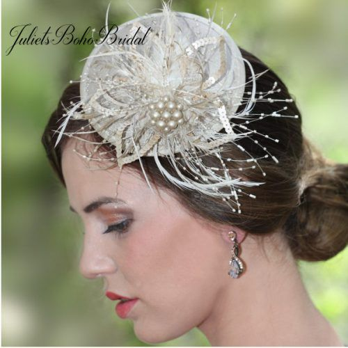 Champagne Gold Fascinator 09f46c50d29