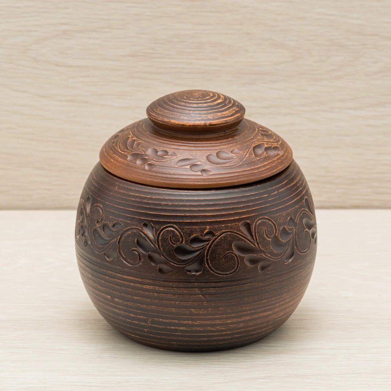 Pottery Baking Pot With Lid Clay Baking Pot Pottery Pot For Etsy In 2020 Pottery Pot Baking Clay Ceramic Pot
