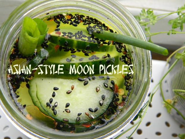 Hello! Asian style moon refrigerator pickles you will be mine soon.