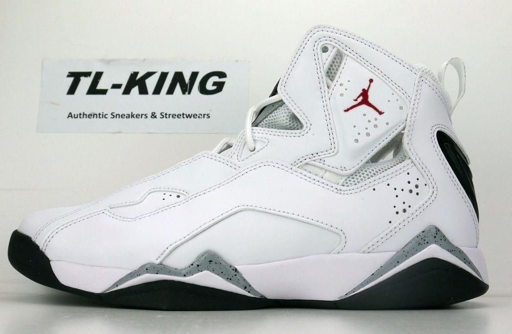 Nike Air Jordan True Flight White Red