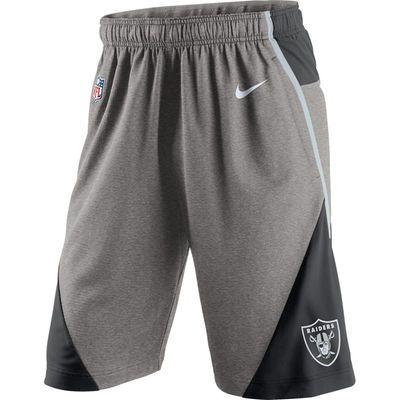 38d6e104 Oakland Raiders Nike Fly XL 4.0 Performance Shorts - Charcoal   Men ...