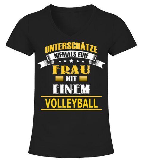 Volleyball Frau Fun Frauen Sport Sprüche Lustige