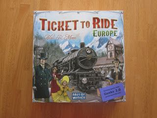 Geeks 2 0 Ticket To Ride Is A Great Combination Of Strategy
