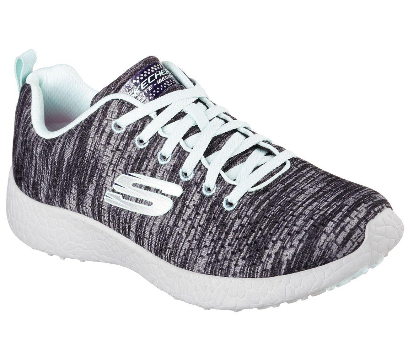 12740 PINK MULTI Skechers Shoes Burst Memory Foam Women Soft
