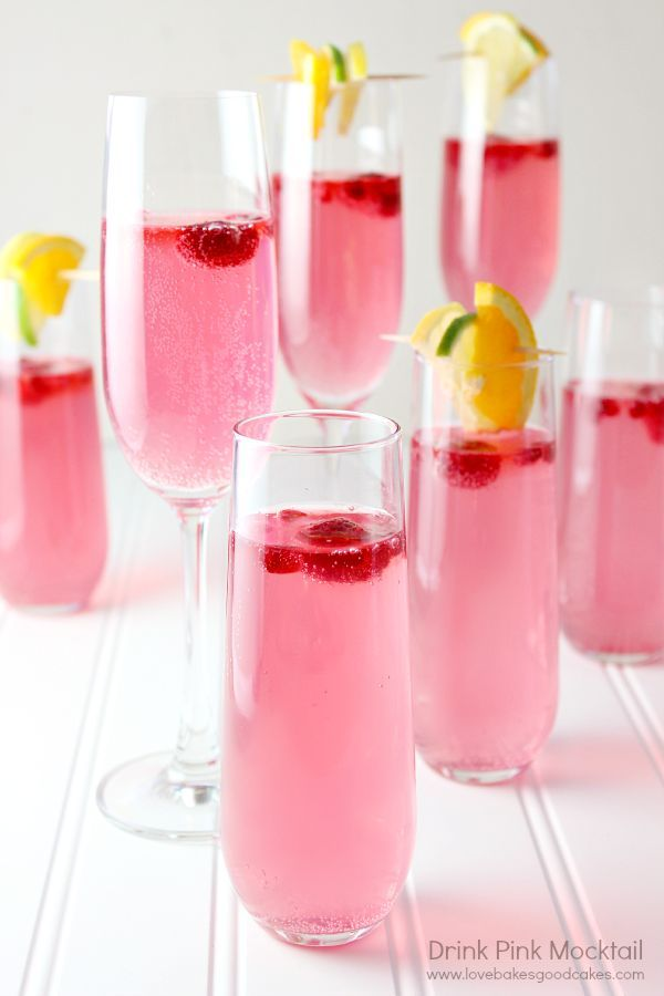 Pink Drinks, Alcoholic