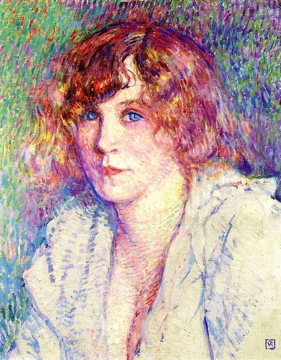 Miss Gertrude - Theo van Rysselberghe - circa 1901: