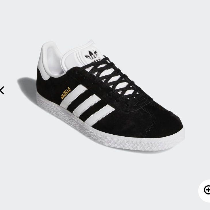 adidas Shoes | Adidas Black Womens Gazelle Shoes | Color: Black ...